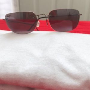 Nys Collection wrap around aviator sunglasses